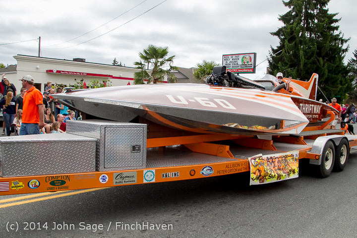 20507 Vashon Strawberry Festival Grand Parade 2014 071914