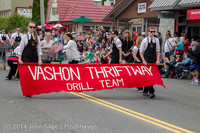 20527 Vashon Strawberry Festival Grand Parade 2014 071914