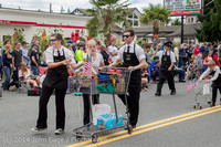 20533 Vashon Strawberry Festival Grand Parade 2014 071914