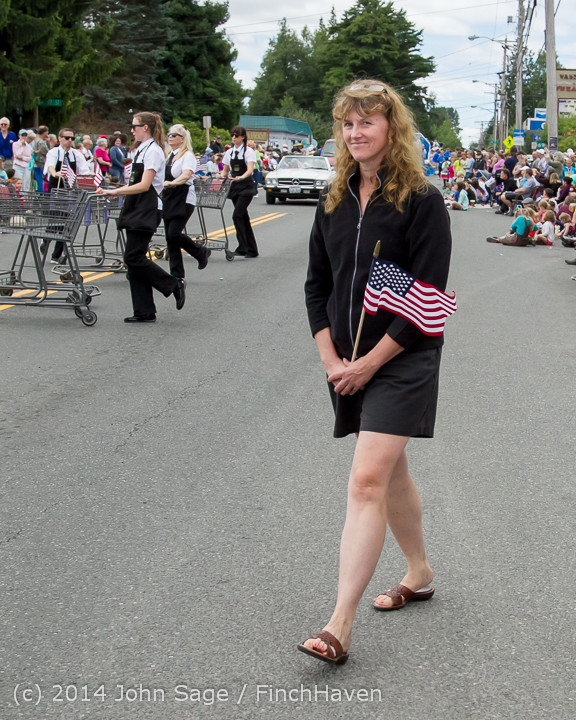 20537 Vashon Strawberry Festival Grand Parade 2014 071914