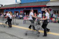 20549 Vashon Strawberry Festival Grand Parade 2014 071914