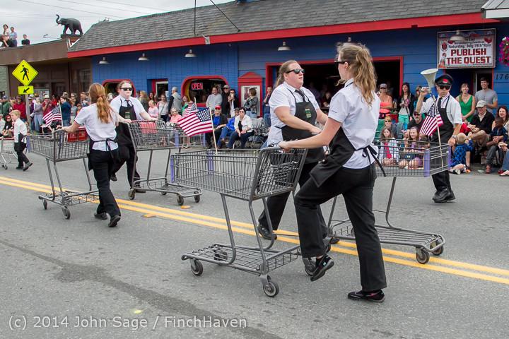 20550 Vashon Strawberry Festival Grand Parade 2014 071914