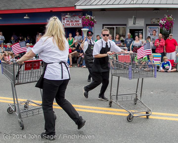 20553 Vashon Strawberry Festival Grand Parade 2014 071914