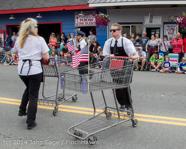 20554 Vashon Strawberry Festival Grand Parade 2014 071914