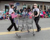 20555 Vashon Strawberry Festival Grand Parade 2014 071914