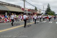20577 Vashon Strawberry Festival Grand Parade 2014 071914