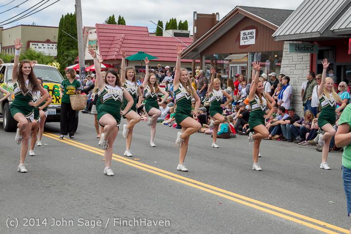 20658 Vashon Strawberry Festival Grand Parade 2014 071914