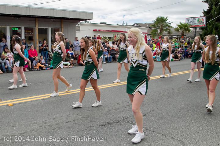 20675 Vashon Strawberry Festival Grand Parade 2014 071914