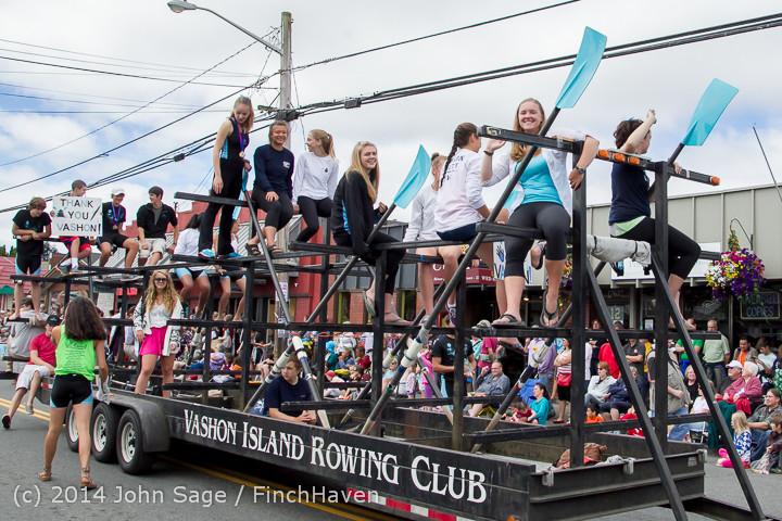 20729 Vashon Strawberry Festival Grand Parade 2014 071914