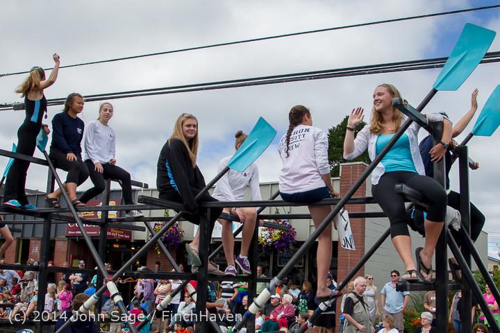 20731 Vashon Strawberry Festival Grand Parade 2014 071914