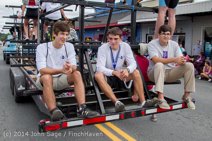 20741 Vashon Strawberry Festival Grand Parade 2014 071914