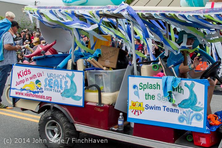 20800 Vashon Strawberry Festival Grand Parade 2014 071914