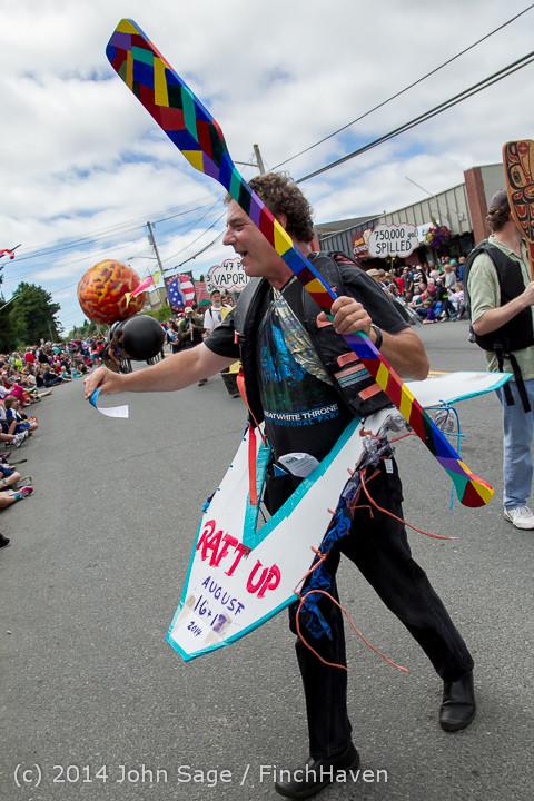 20808 Vashon Strawberry Festival Grand Parade 2014 071914