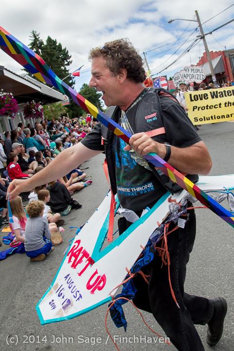 20809 Vashon Strawberry Festival Grand Parade 2014 071914