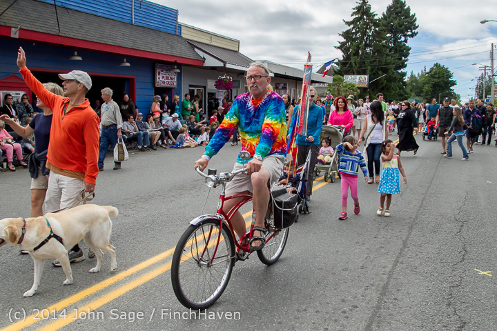 20839 Vashon Strawberry Festival Grand Parade 2014 071914