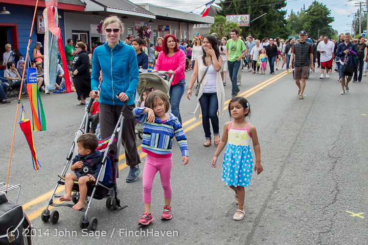 20842 Vashon Strawberry Festival Grand Parade 2014 071914