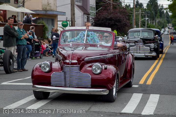 2803 Tom Stewart Car Parade and Show 2014 072014