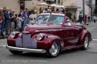 2804 Tom Stewart Car Parade and Show 2014 072014