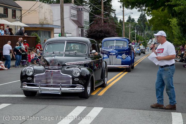 2805 Tom Stewart Car Parade and Show 2014 072014