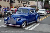 2808 Tom Stewart Car Parade and Show 2014 072014