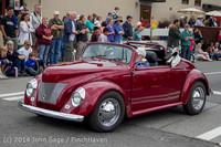 2812 Tom Stewart Car Parade and Show 2014 072014