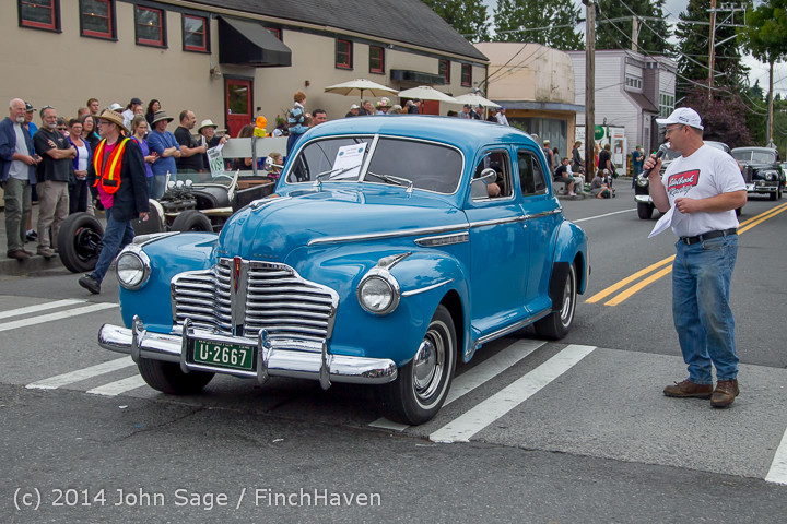2828 Tom Stewart Car Parade and Show 2014 072014