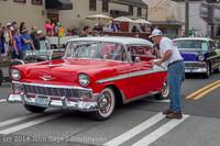 2853 Tom Stewart Car Parade and Show 2014 072014