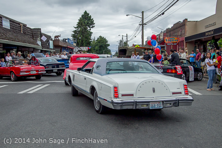 2870 Tom Stewart Car Parade and Show 2014 072014