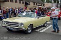 2873 Tom Stewart Car Parade and Show 2014 072014