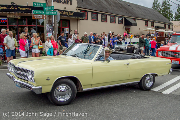 2875 Tom Stewart Car Parade and Show 2014 072014