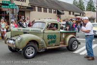 2883 Tom Stewart Car Parade and Show 2014 072014