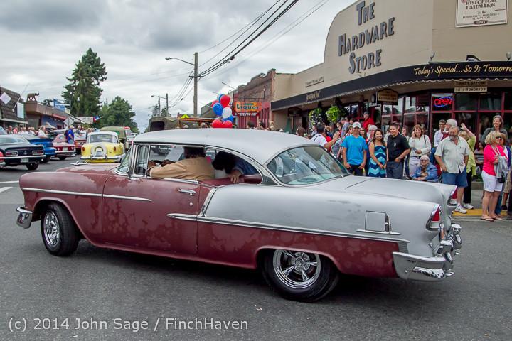 2892 Tom Stewart Car Parade and Show 2014 072014