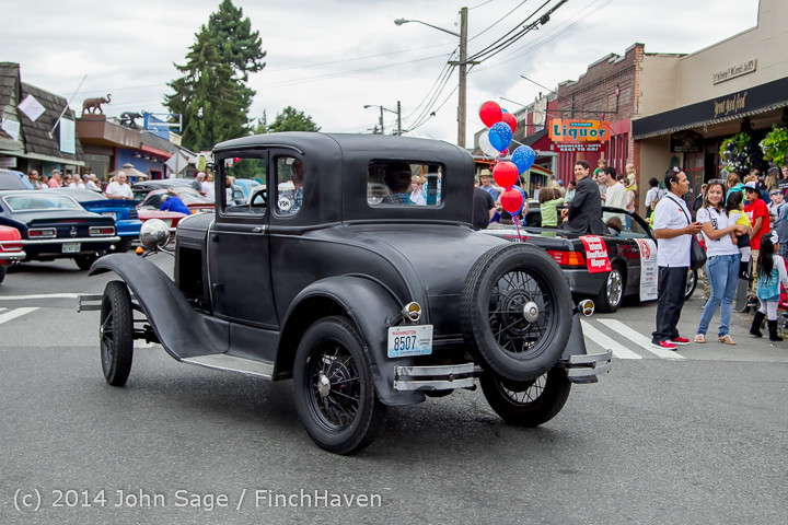 2906 Tom Stewart Car Parade and Show 2014 072014