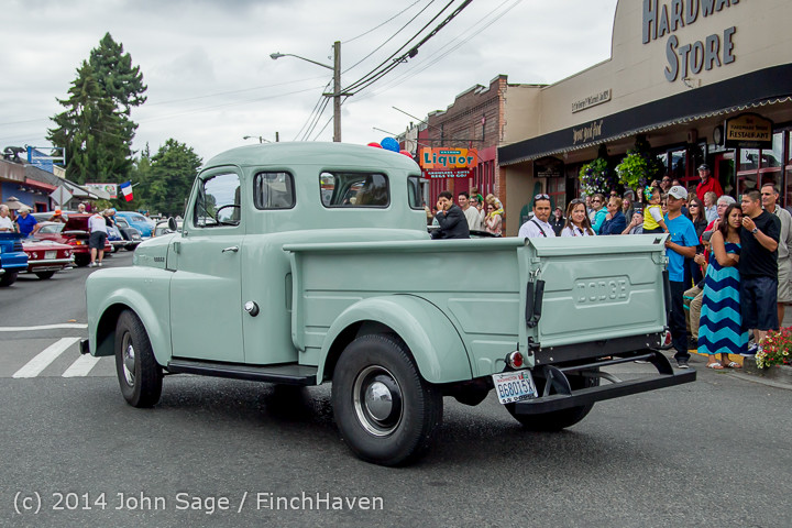 2947 Tom Stewart Car Parade and Show 2014 072014