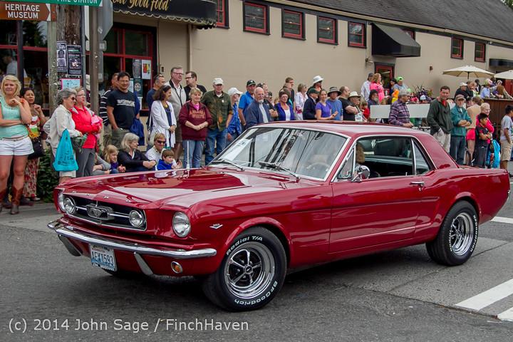 2986 Tom Stewart Car Parade and Show 2014 072014