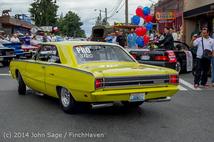 3001 Tom Stewart Car Parade and Show 2014 072014