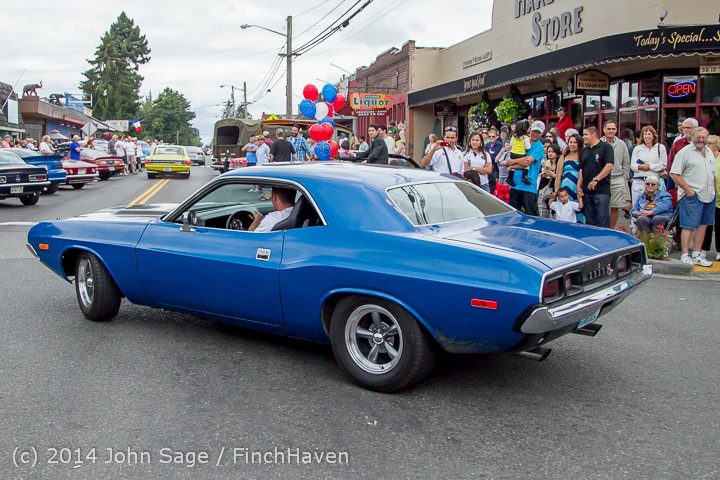 3012 Tom Stewart Car Parade and Show 2014 072014