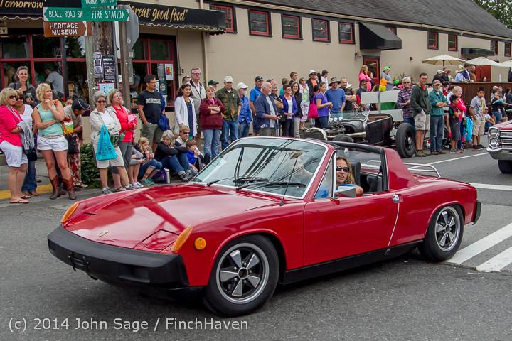 3021 Tom Stewart Car Parade and Show 2014 072014
