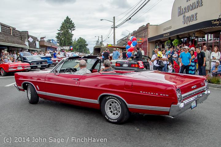 3027 Tom Stewart Car Parade and Show 2014 072014