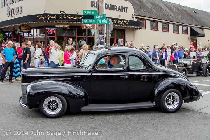 3029 Tom Stewart Car Parade and Show 2014 072014
