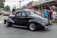 3030 Tom Stewart Car Parade and Show 2014 072014