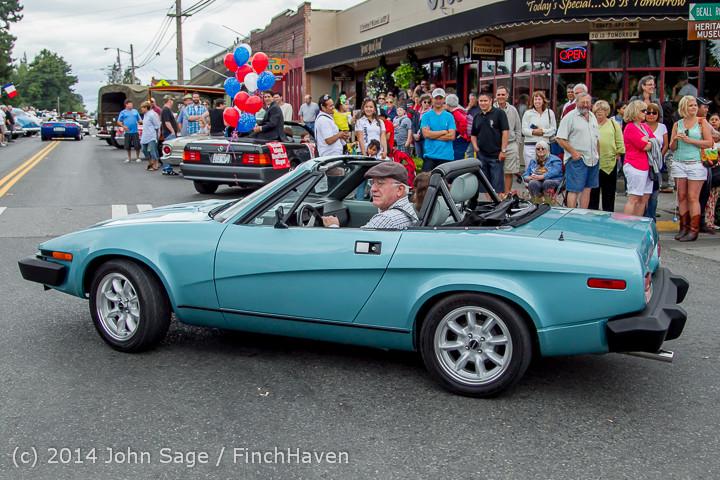 3041 Tom Stewart Car Parade and Show 2014 072014