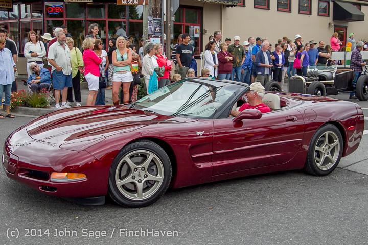 3049 Tom Stewart Car Parade and Show 2014 072014