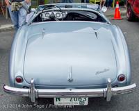 3121 Tom Stewart Car Parade and Show 2014 072014