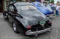 3122 Tom Stewart Car Parade and Show 2014 072014