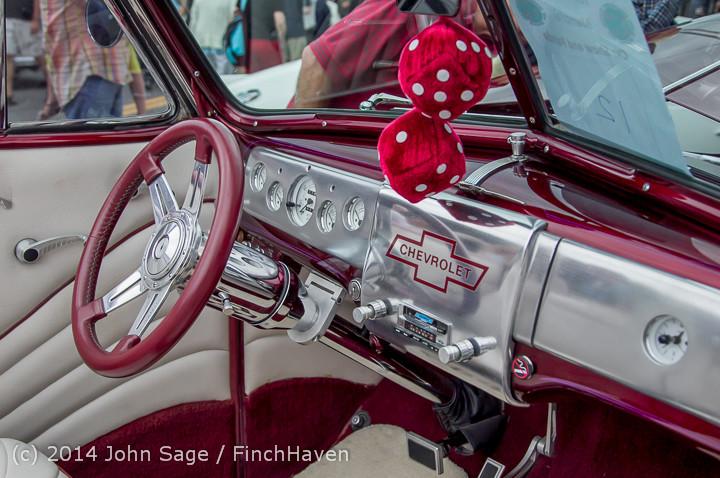3126 Tom Stewart Car Parade and Show 2014 072014