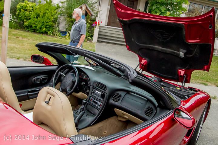 3167 Tom Stewart Car Parade and Show 2014 072014