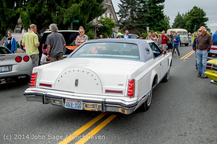 3210 Tom Stewart Car Parade and Show 2014 072014