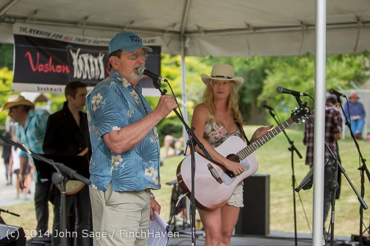 3280 Allison Shirk Band Ober Park Sunday 072014