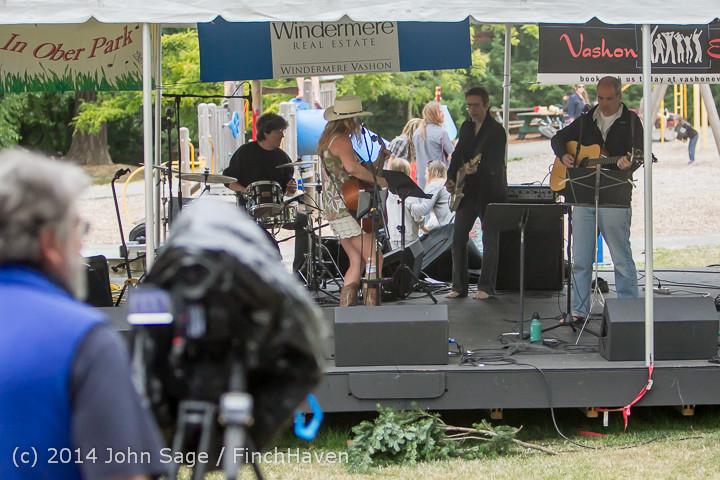 3288 Allison Shirk Band Ober Park Sunday 072014